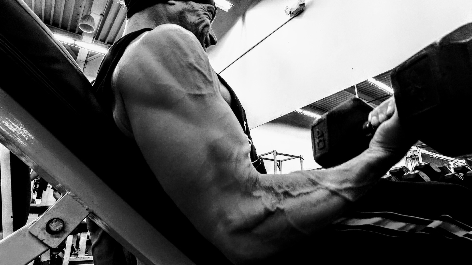Ryan Schwantes Bicep Exercise