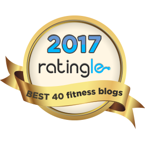 Top 40 Fitness Blog Badge
