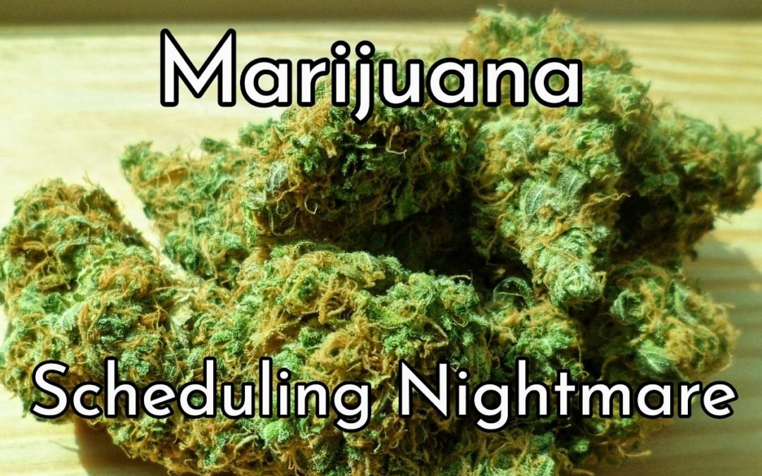 Marijuana – A Scheduling Nightmare!